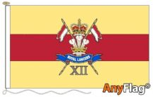 12TH ROYAL LANCERS (STYLE B) - ANYFLAG RANGE - VARIOUS SIZES (9) (10)